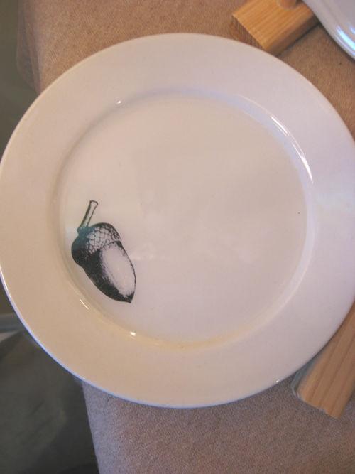 Acorn plate