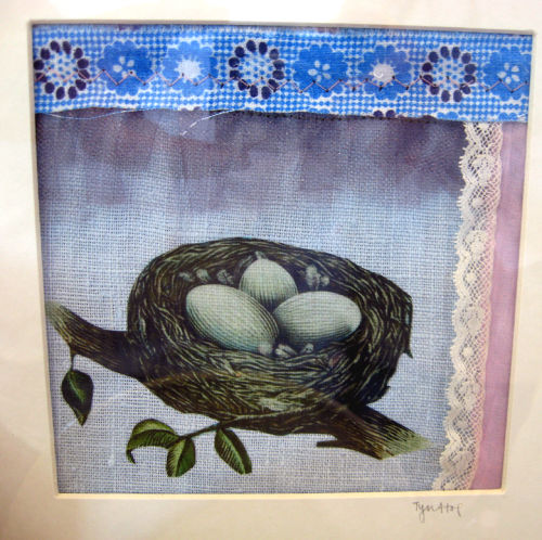 Thru the window mini quilt