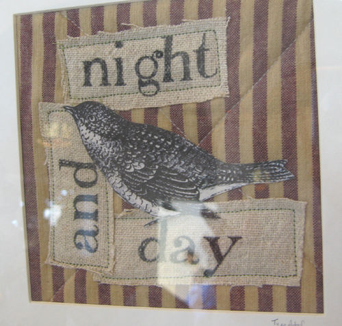 Night and day mini quilt