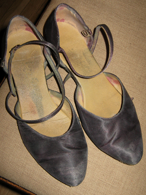 First dance shoes