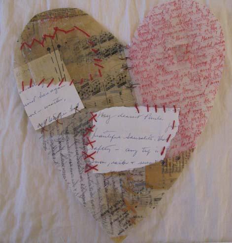 Broken heart mended- for zinnia show