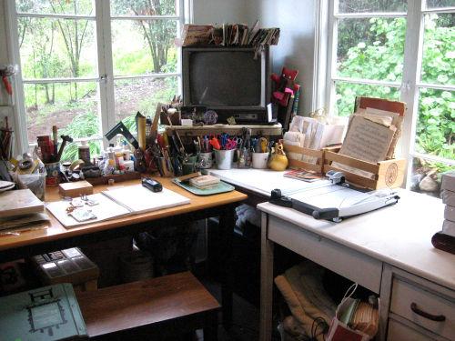 Studio work space