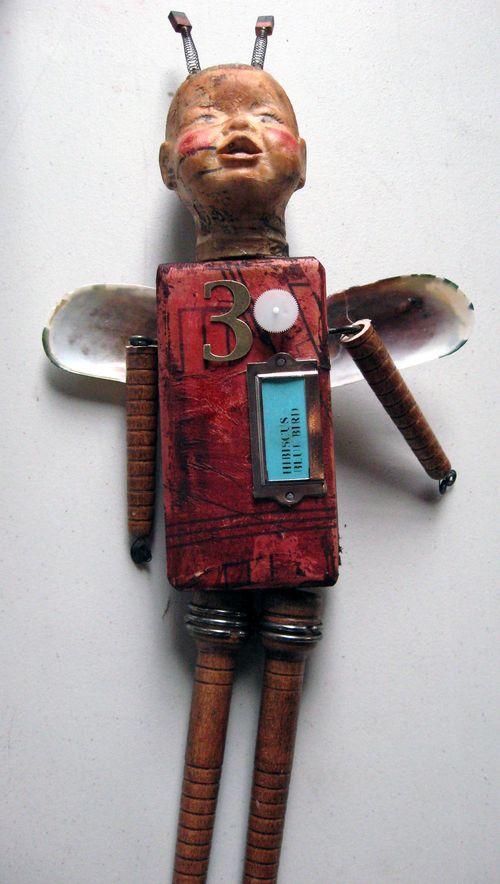 Hib. bluebird doll