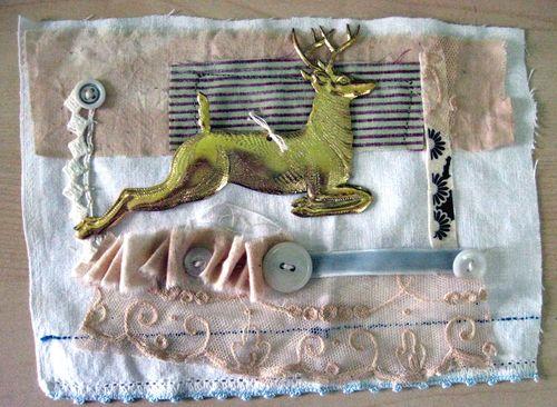 Mini quilt sample